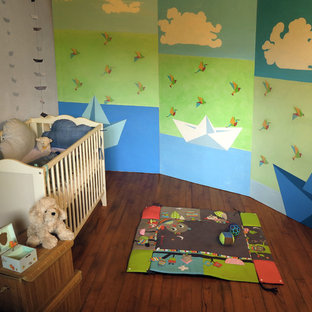 This is an example of a modern nursery in Dijon.