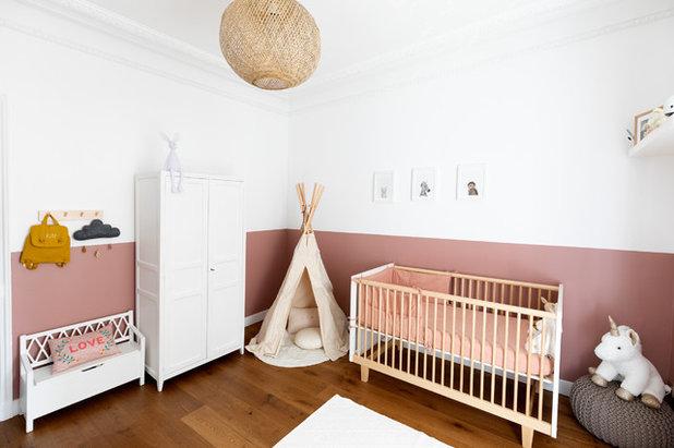 Contemporain Chambre de Bébé by Charlotte Fequet