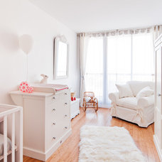 Contemporary Nursery by Marion Alberge Décoration