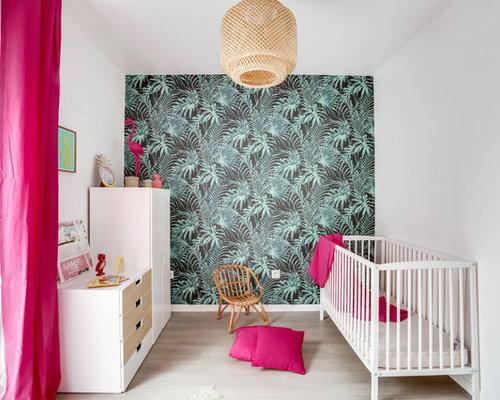 Chambre de bébé exotique : Photos, aménagement et idées déco de ...
