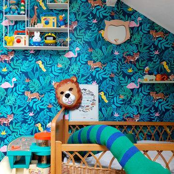 Maison familiale colorée à Bondy