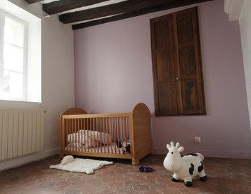 Maison M - 'adaptation intérieure d'une bâtisse briarde - Tournan en Brie (77)