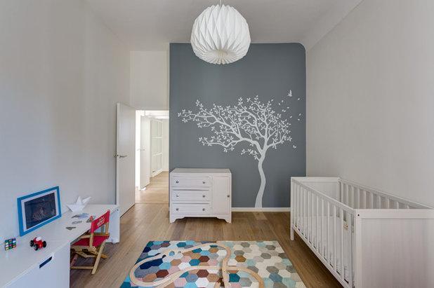 Scandinavian Nursery by Mon Concept Habitation