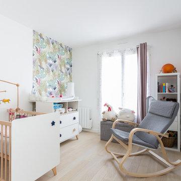 Un appartement et un studio réunis pour une famille