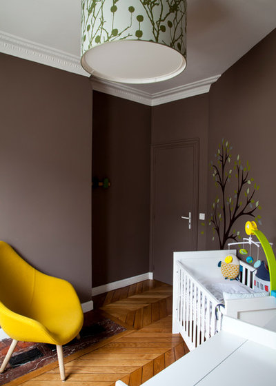 Contemporain Chambre de Bébé by NOOOR architecte d'interieur
