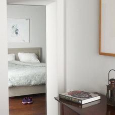 Contemporary Bedroom by A+B KASHA Designs