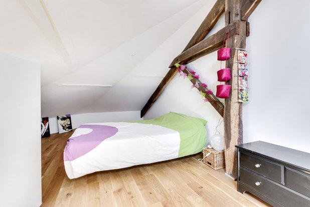 Contemporain Chambre by tina merkes architecture