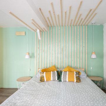 Amenagement et decoration d'un appartement en duplex à Lille