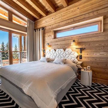 Aménagement et décoration d'un appartement en montagne