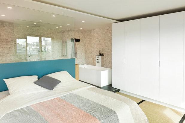 Contemporary Bedroom by Agence Glenn Medioni