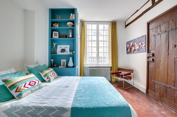 Méditerranéen Chambre by LES CHANTIERS COTTIN