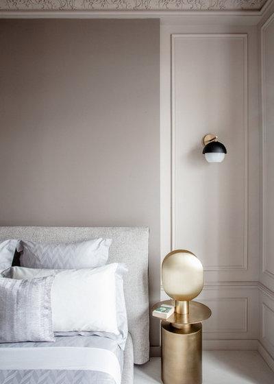 Неоклассика Спальня by FELIX MILLORY ARCHITECTURE