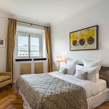 Appartement classique chic à Paris