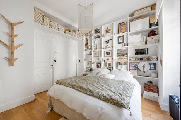 Éclectique Chambre by Alexandre Montagne - Photographe immobilier