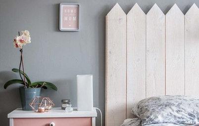 Просто фото: Изголовье кровати своими руками — 26 идей