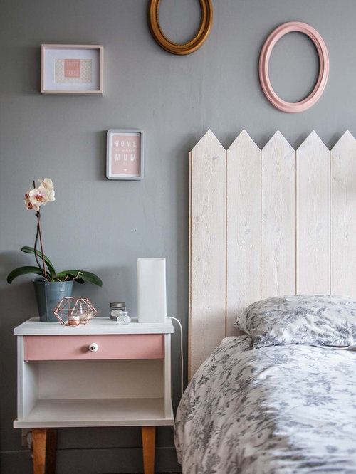 Chambre adulte scandinave photos et id es d co de chambres adultes for Chambre scandinave vert