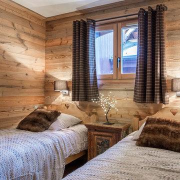 Appartement en vieux bois