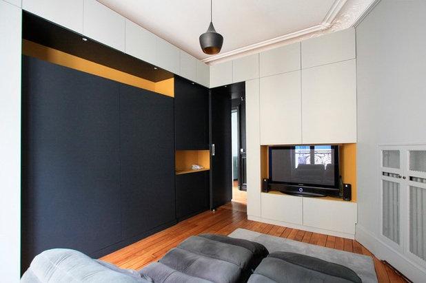 Современный Спальня by Gaëlle Cuisy + Karine Martin, Architectes dplg