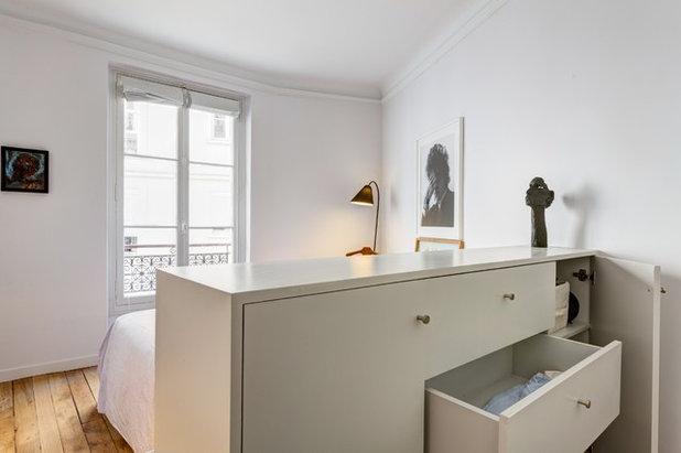Contemporain Chambre by QUALIRENOVATION