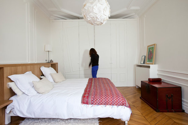 Contemporain Chambre by Alia Bengana architecte