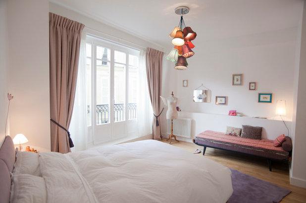 Éclectique Chambre by Carine Tilliette