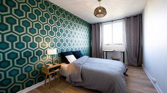 Appartement scandinave vintage