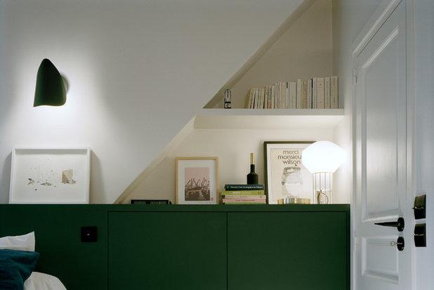 Contemporain Chambre by BOSSARD Architecture