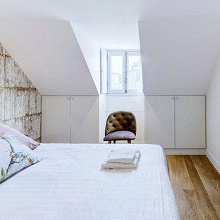 Idée de décoration pour une chambre tradition.