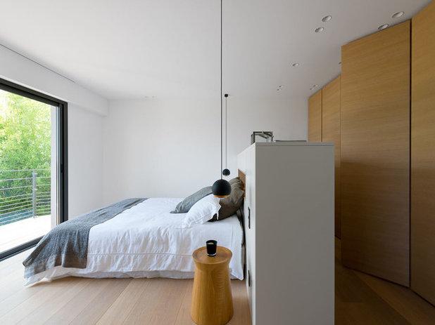 Modern Schlafzimmer by Anthony Lanneretonne Photographe