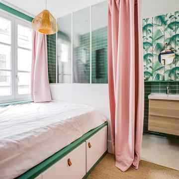 Avant/Après : restructuration totale d'un appartement à Paris 75010