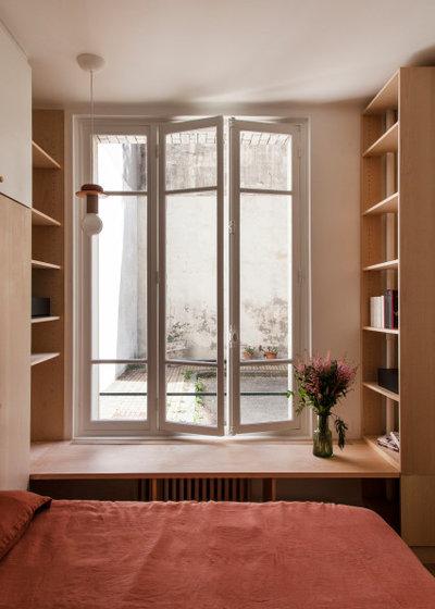 Scandinavian Bedroom by Épicène