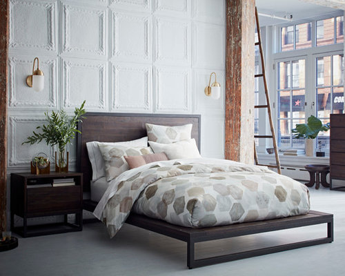 Contemporary Bedroom In London.