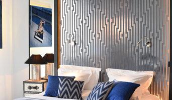 Bedroom with mezzanine- Paris, France