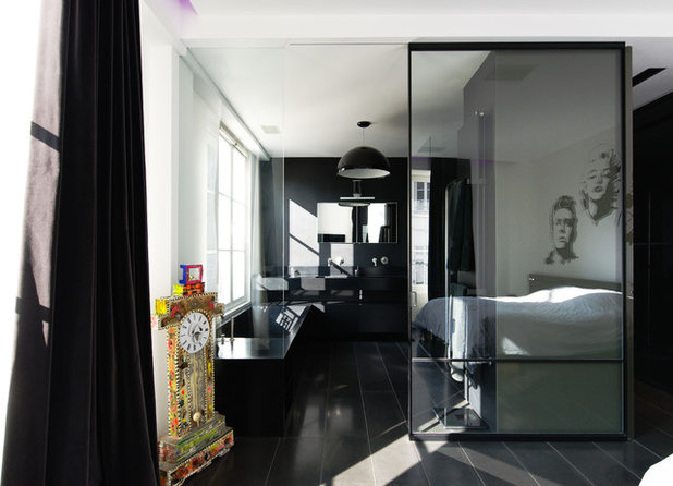 Moderne Chambre by f+f architectes