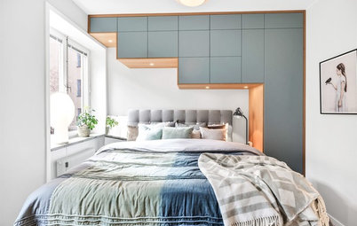 20 Small Bedrooms With Super-Sized Storage