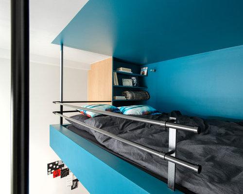Chambre avec mezzanine : Photos et idées déco