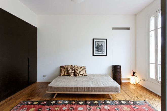 Bedroom by Antonio Virga Architecte