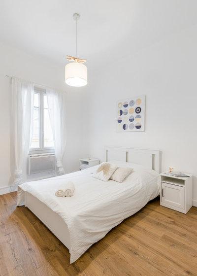 Chambre by Laurence VERNET architecte d'intérieur décoratrice