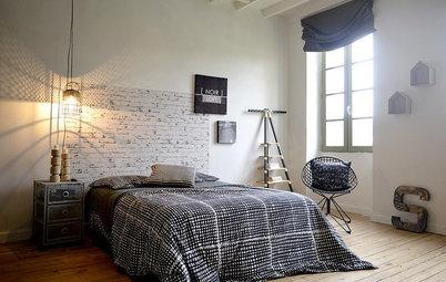 6 claves para darle al dormitorio un aire industrial