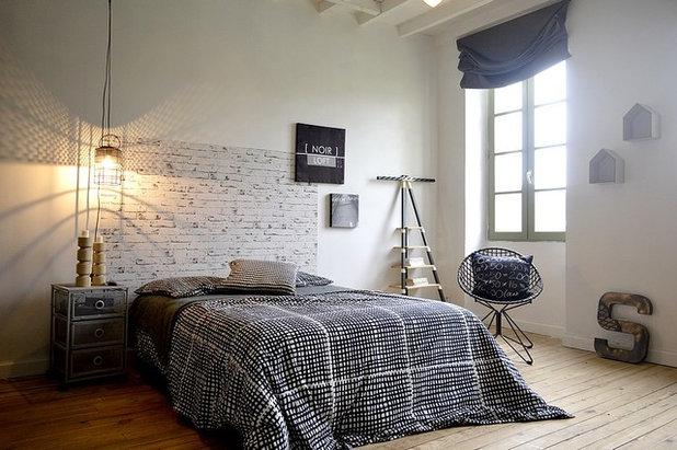 Industrial Dormitorio by Béatrice Saurin - Conception intérieure