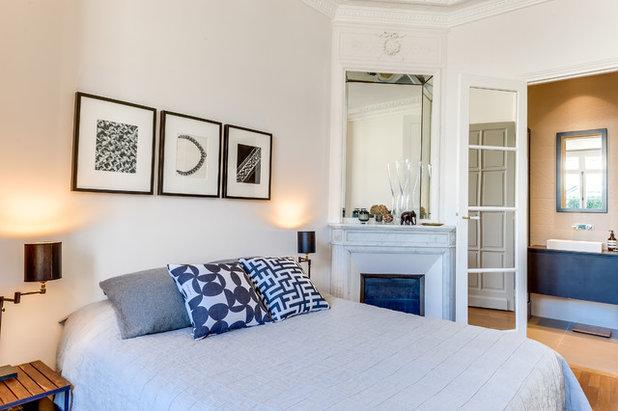 visite priv e un 166 m r am nag pour s 39 adapter la vie familiale. Black Bedroom Furniture Sets. Home Design Ideas