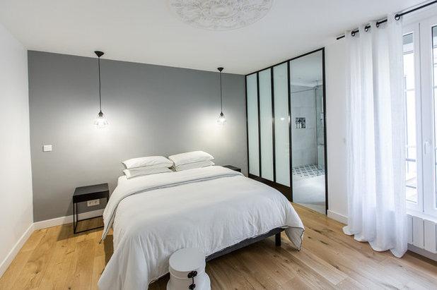 Contemporain Chambre by Reve'l Architecture
