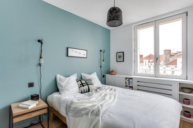 Camera da letto maschile 10 colori imprevedibili che funzionano - Studio in camera da letto ...