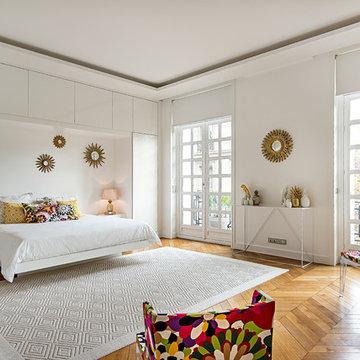 Chambre dans appartement Haussmannien à Paris