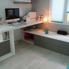 Modern Bedroom by Happy Hours au coeur de votre interieur