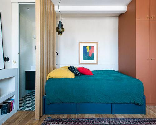 Petite chambre mansardée ou avec mezzanine : Photos et idées déco de ...