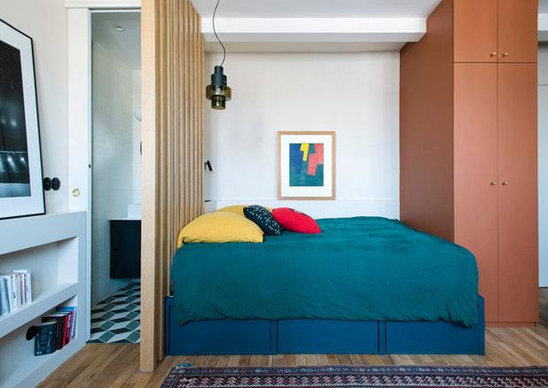 Eclectic Bedroom by Carole Dugelay, Architecture Intérieure-Décoration