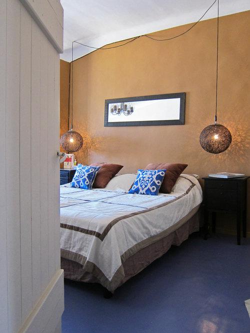 mediterrane schlafzimmer mit linoleumboden ideen design. Black Bedroom Furniture Sets. Home Design Ideas