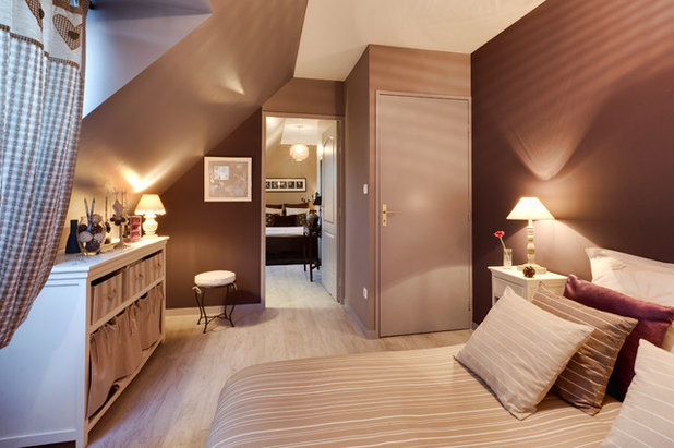 Chambre de la semaine romance dans une chambre mansard e for Decoration chambre mansardee