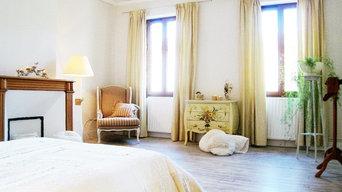 Chambre rénovée dans maison de maître ancienne 30 m²